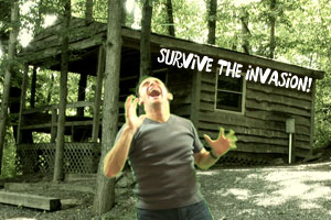 survive the invasion of zombies!